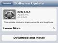 修正多种BUG 苹果发布iOS 6.0.1更新