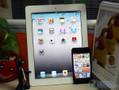 苹果iPad2 VS iPod touch4摄像头对比